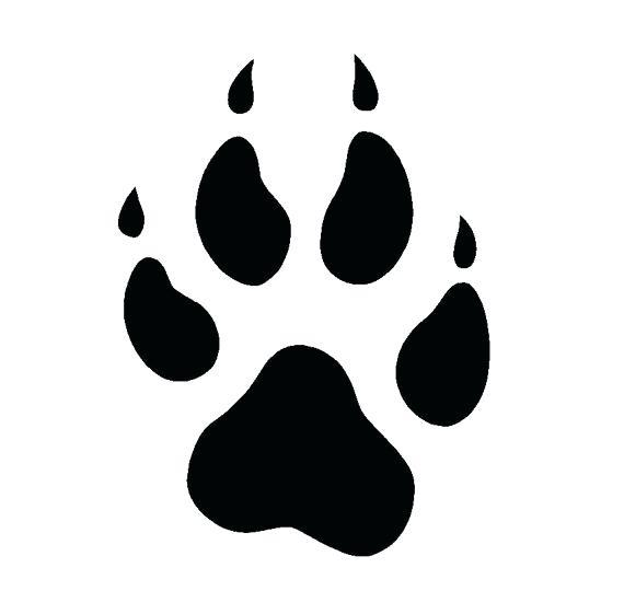 570x561 Dog Print Best Ideas About Paw Print Clip Art On Dog Paw Print
