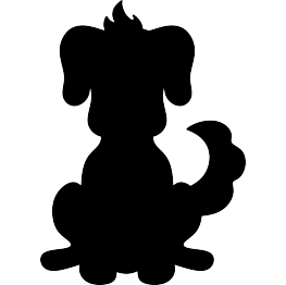 263x262 New Silhouettes Dog Paw Print, Dolphin, Donkey, And More