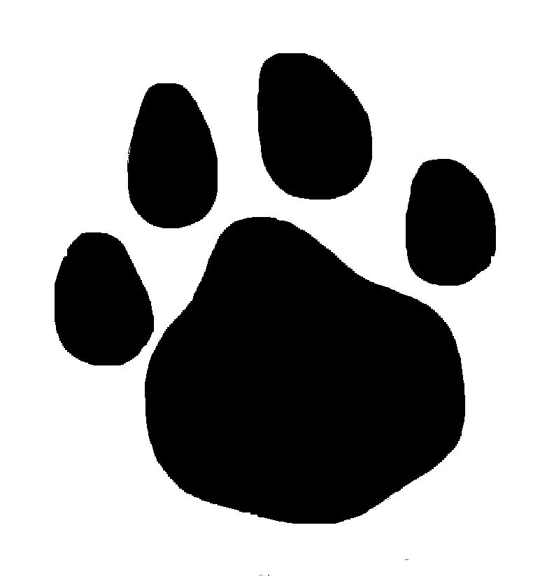 762x837 Clipart Cat Paw Dog Clip Art Black Print Silhouette Lemonize