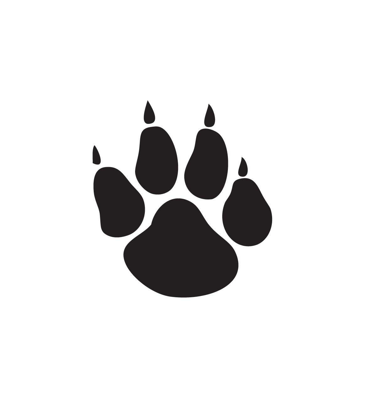 dog paw silhouette at getdrawings com free for personal use dog rh getdrawings com paw clip art free paw clip art free