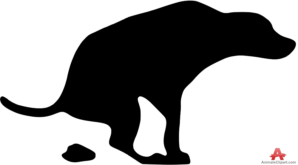999x556 Dog Poop Clipart Silhouette Free Clipart Design Download