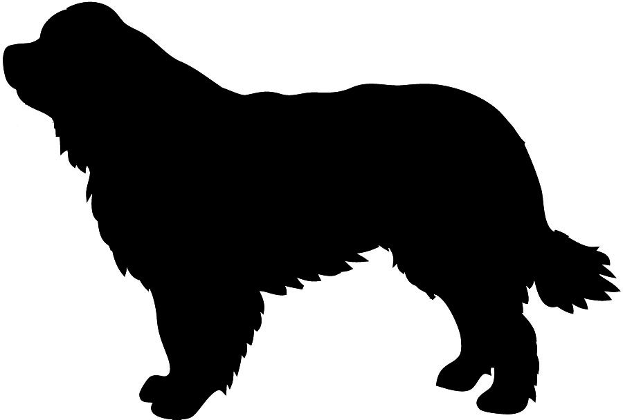 900x608 Couple Silhouette With Dog Clipart Collection