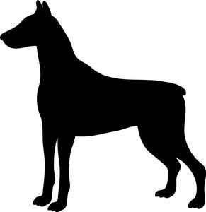 291x300 Dog Profile Clipart