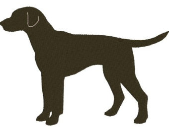 340x270 Dog Embroidery Design. Puppy Embroidery Design. Machine Embroidery