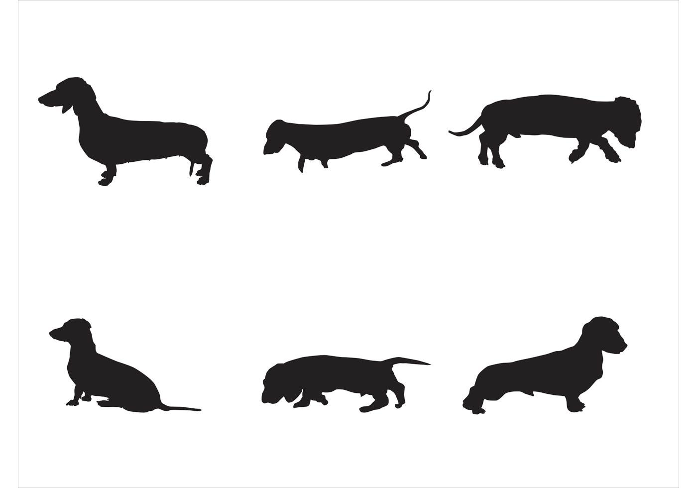 1400x980 Wiener Dog Free Vector Art