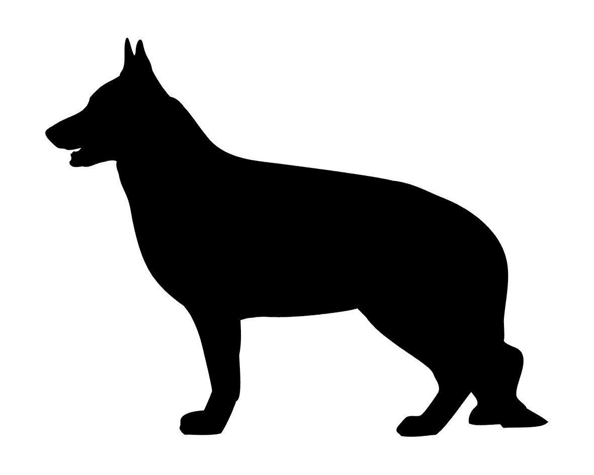 1181x945 Sale German Shepherd Dog Silhouette Vinyl Decal For By Ellystudio