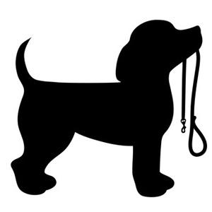 300x300 Beagle Puppy Dog Silhouette