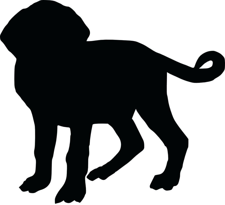 900x820 Dog Silhouette Clip Art S Dog Silhouette Clip Art Free
