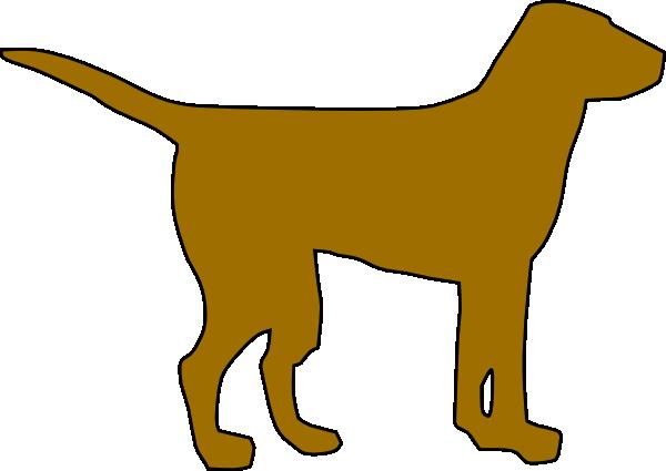 600x425 Dog Silhouette Clip Art