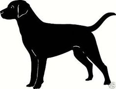 236x183 Black Lab Silhouette Clip Art Clipart Best Mako On Etsy