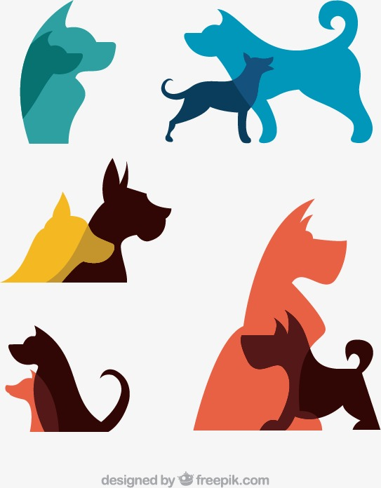 543x696 Dog Silhouette Png, Vectors, Psd, And Clipart For Free Download