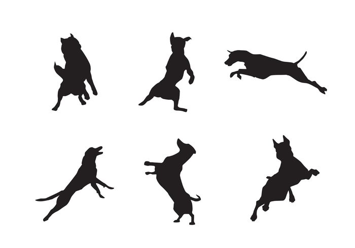 700x490 Jumping Silhouette Clipart
