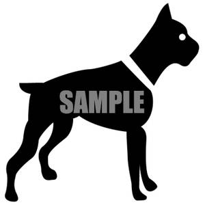 300x300 Dog Silhouette