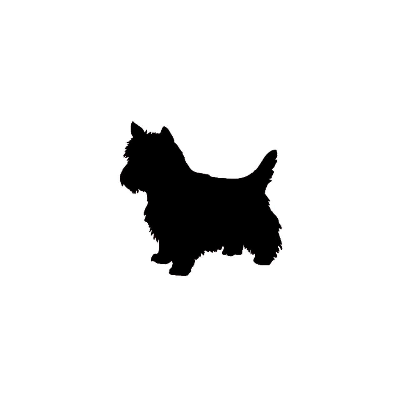1260x1260 Free SVG File Download – Yorkie Dog Silhouette – BeaOriginal