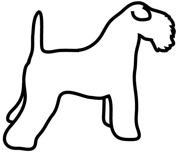 600x524 Dog Silhouette