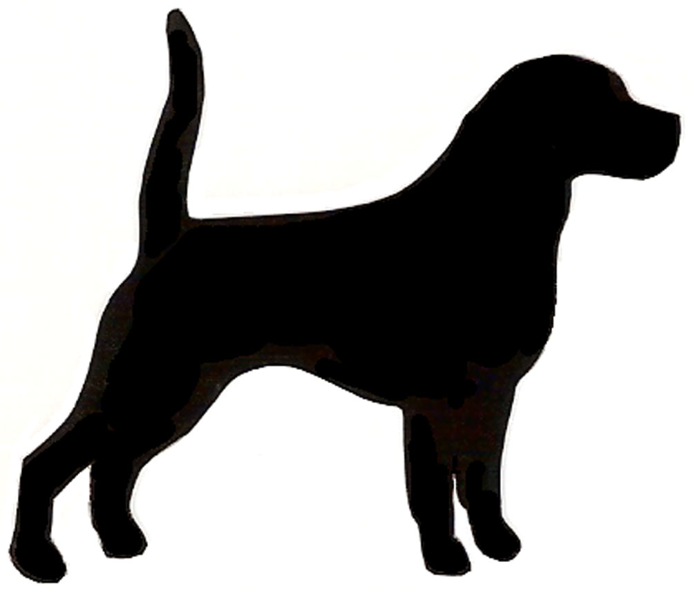 1000x859 Beagle Clipart Dog Silhouette
