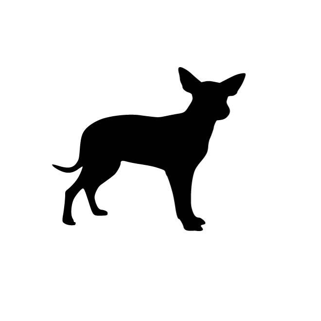 660x660 Outline Image Of A Dog