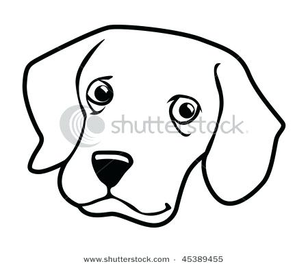 450x388 Dog Outlines