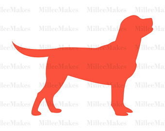 340x270 Dog Silhouette Etsy