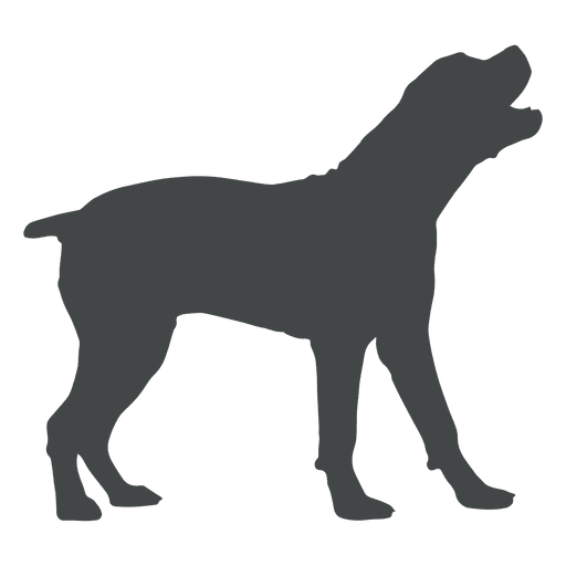 512x512 Dog Silhouette Howling