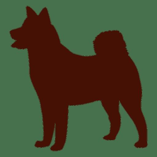 512x512 Dog Silhouette Puppy
