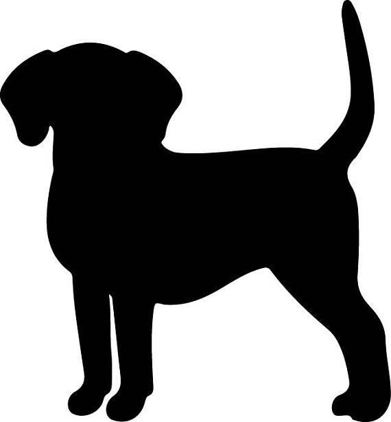 570x614 Dog Svg Dog Vector Dog Clipart Dog Silhouette Svg Files