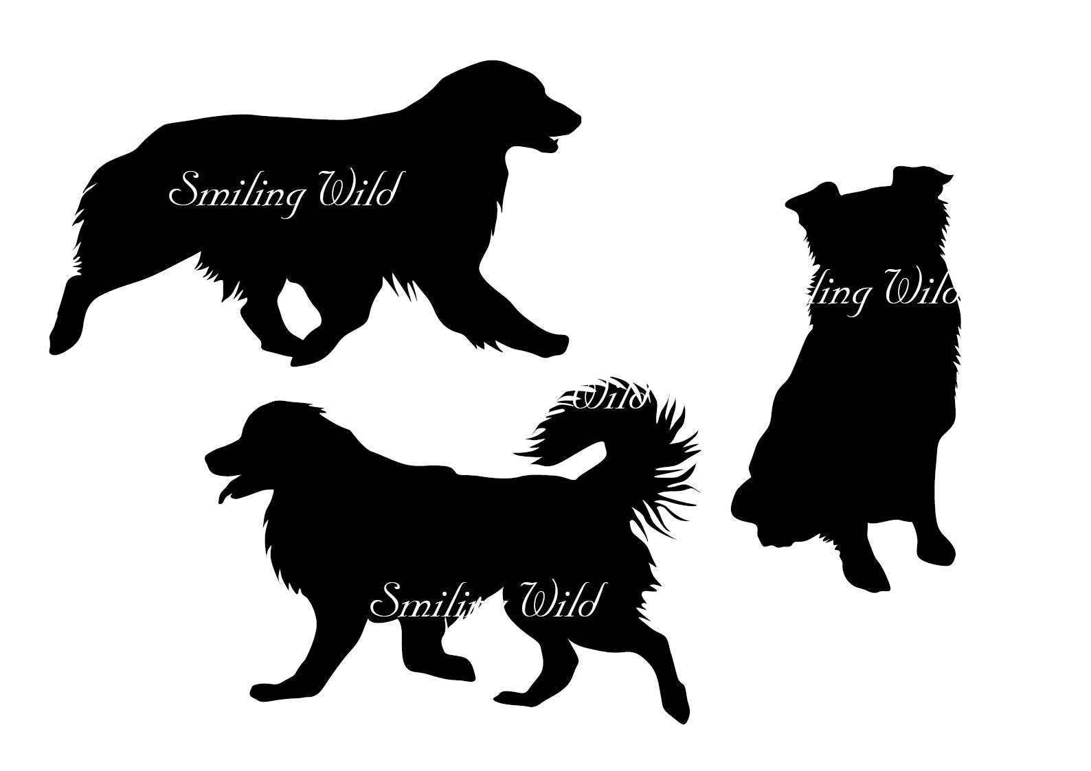 1588x1123 Australian Shepherd Svg Silhouette Vector Graphic Art File Dog Svg