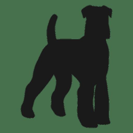 512x512 Black Dog Silhouette