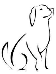 197x262 Image Result For Dog Silhouette Tattoo Hair