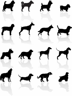 274x368 Dog Silhouette Free Vector Download (6,070 Free Vector)