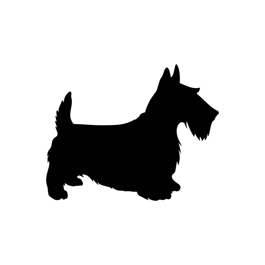 870x870 Scottie Dog Graphics Svg Dxf Eps Png Cdr Ai Pdf Vector Art Clipart