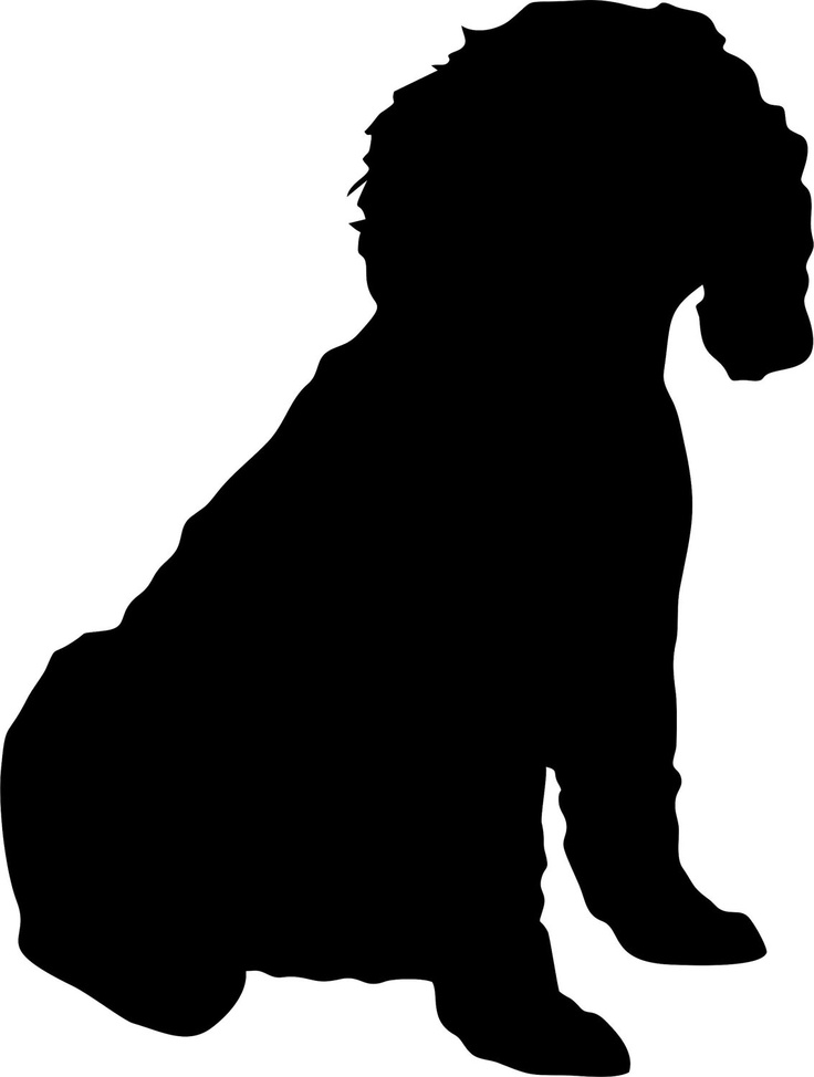 736x974 Free Silhouette Of A Dog, Hanslodge Clip Art Collection