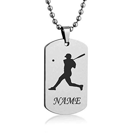 466x466 Personalized Sport Silhouette Customize Engrave