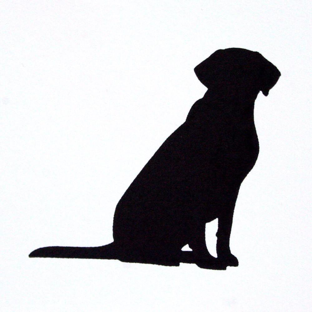 1000x1000 Dog Letterpress Card