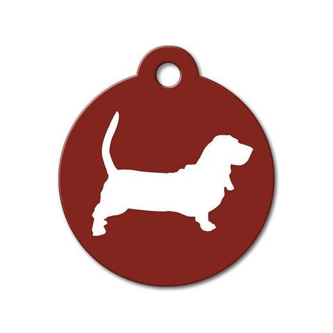 480x480 Silhouette Pet Tags