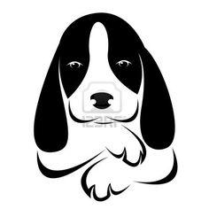 236x236 Vector Art Paw Sign With Heart Shape Dog Heart