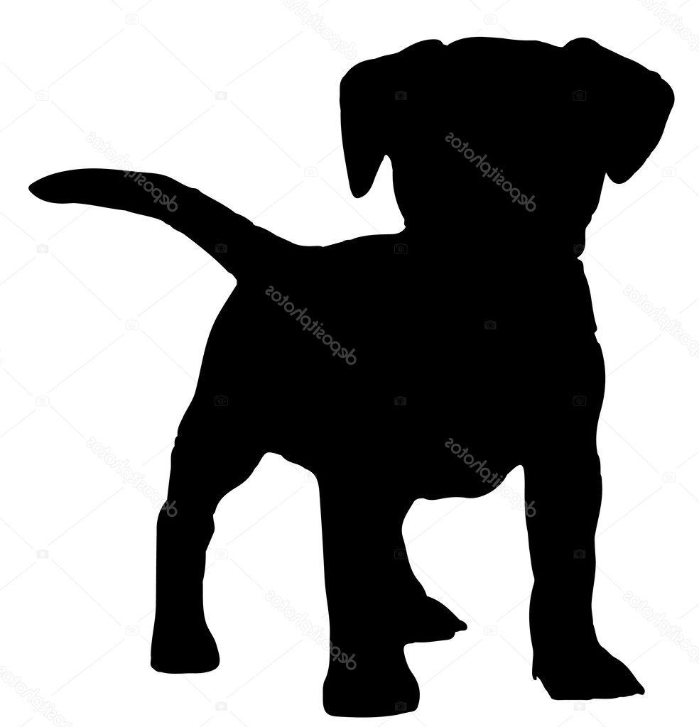 984x1024 Best Hd Puppy Silhouette Vector Library Free Vector Art, Images