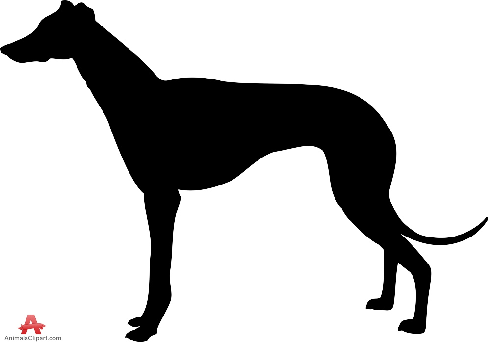 999x699 Hunting Dog Silhouette Clip Art