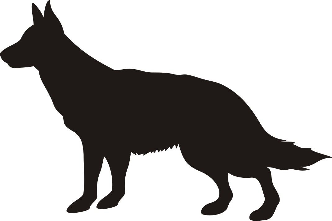 1070x715 Silhouette Of Dogs 2017 Cliparts.co All Rights Reserved Cross