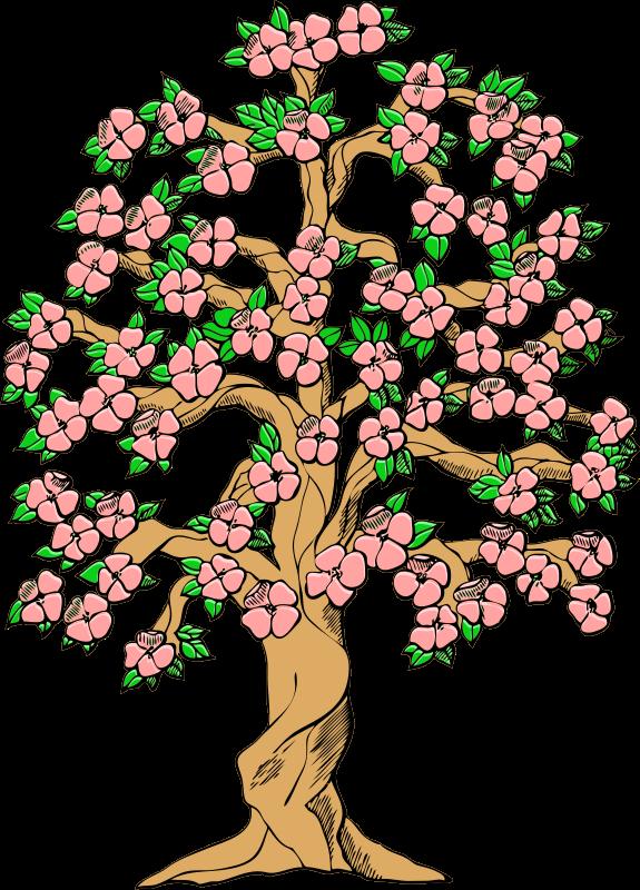 575x800 Dogwood Tree Clip Art