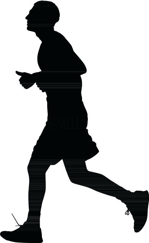 492x800 Runner Silhouette Runner Silhouette Tattoo