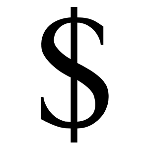 300x300 Dollar Sign Clipart, Cliparts Of Dollar Sign Free Download (Wmf