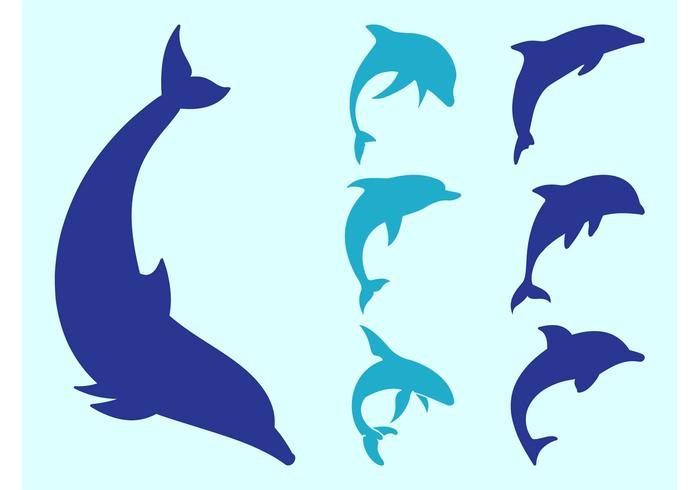 700x490 Dolphin Silhouettes