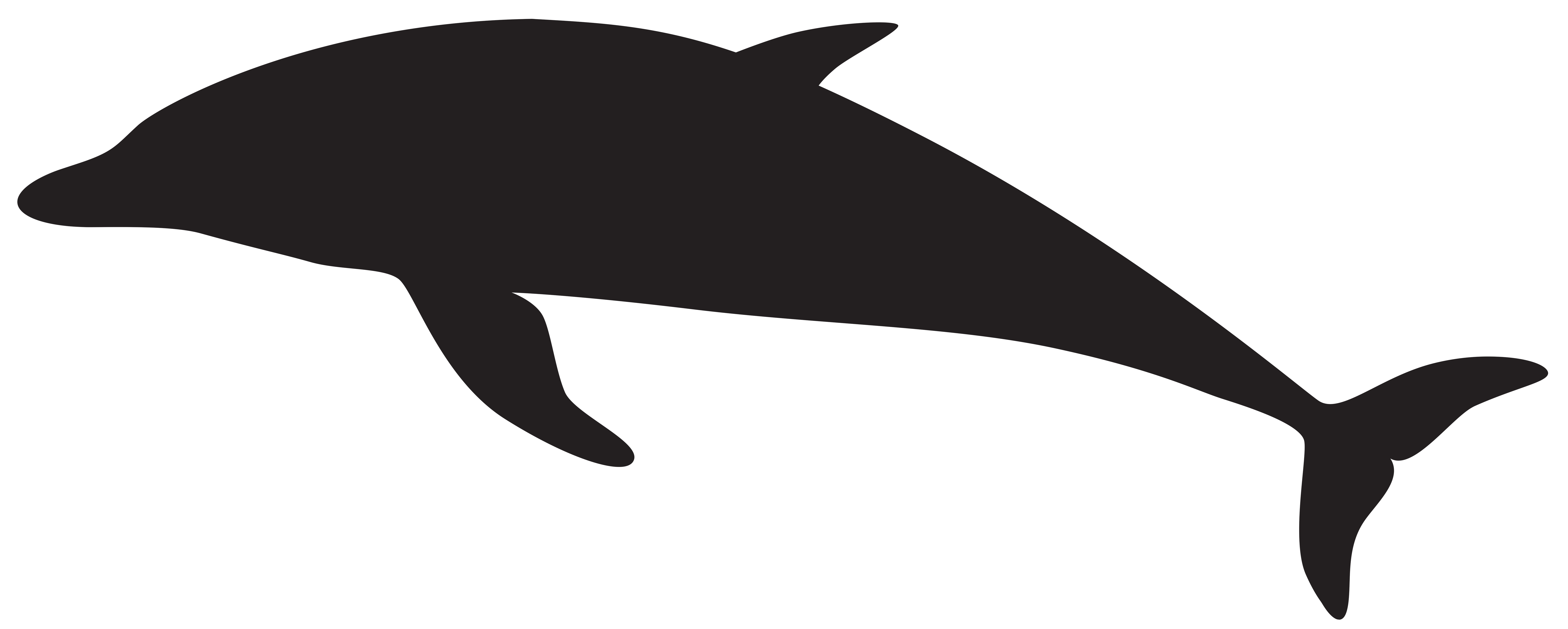 8000x3210 Dolphin Silhouette Png Clip Art Imageu200b Gallery Yopriceville