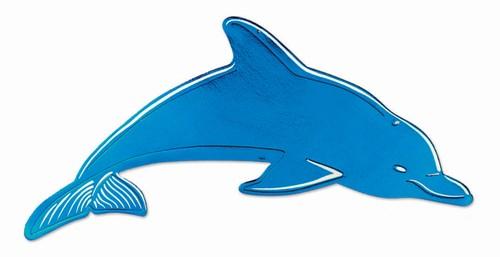 500x257 Foil Dolphin Silhouette