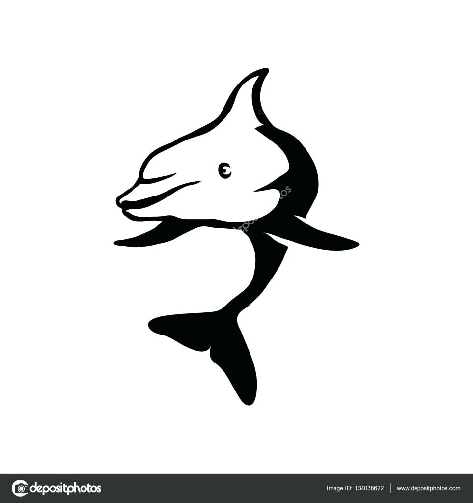 963x1024 Template Dolphin Template Free Printable Coloring Pages Outline