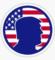210x230 Donald Trump Silhouette Stickers Redbubble