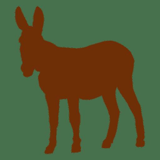 512x512 Donkey Animal Silhouette