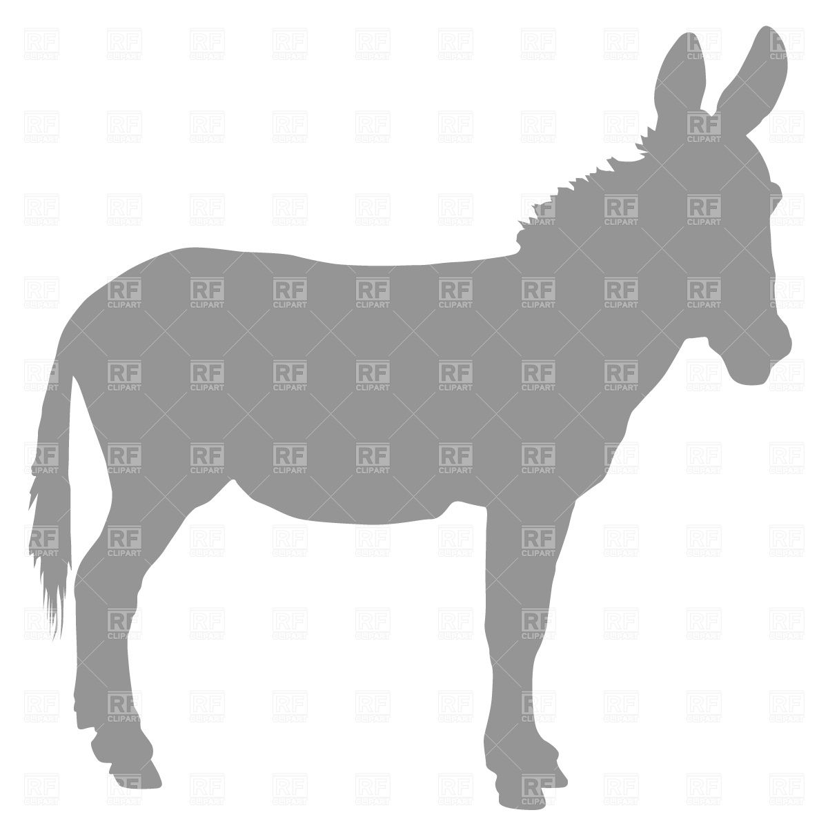1200x1200 Donkey Silhouette Tattoo Silhouette Crafts
