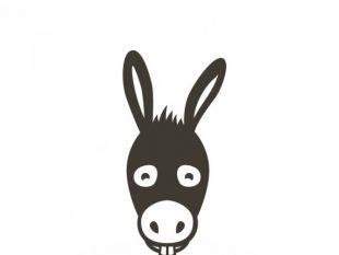 310x233 Donkey Head Free Vector Free Vectors Ui Download